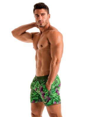 Geronimo Swim Shorts, Item number: 1903p1 Green Shell Swim Short, Color: Green, photo 3