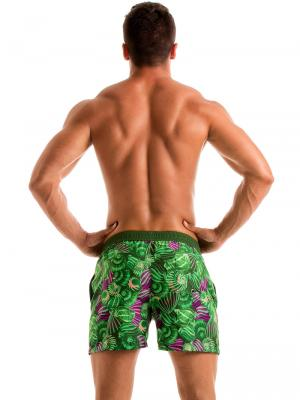 Geronimo Swim Shorts, Item number: 1903p1 Green Shell Swim Short, Color: Green, photo 5