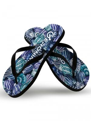 Geronimo Flip Flops, Item number: 1903f1 Blue Shell Flip flops, Color: Blue, photo 1