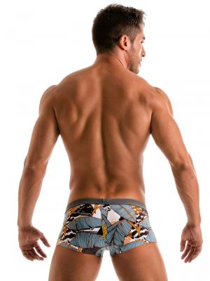 Geronimo Square Shorts, Item number: 1906b2 Palm Square Trunk, Color: Multi, photo 6
