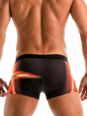 Geronimo Boxers, Item number: 1911b1 Black Swim Trunk, Color: Black, photo 4