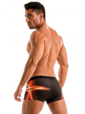 Geronimo Boxers, Item number: 1911b1 Black Swim Trunk, Color: Black, photo 5