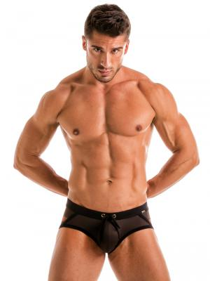 Geronimo Briefs, Item number: 1911s4 Flash Swim Brief, Color: Black, photo 2