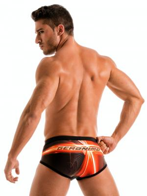 Geronimo Briefs, Item number: 1911s4 Flash Swim Brief, Color: Black, photo 5