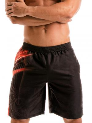 Geronimo Board Shorts, Item number: 1911p4 Flash Surf Boardshort, Color: Black, photo 1