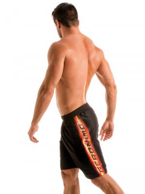Geronimo Board Shorts, Item number: 1911p4 Flash Surf Boardshort, Color: Black, photo 3