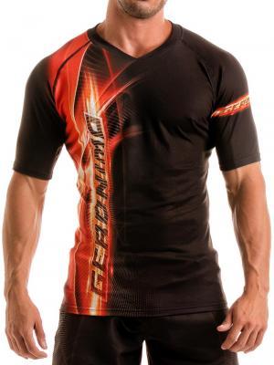 Geronimo T shirts, Item number: 1911t5 Black Flash T-shirt for Men, Color: Black, photo 1