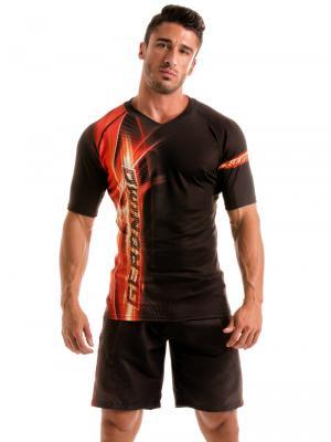 Geronimo T shirts, Item number: 1911t5 Black Flash T-shirt for Men, Color: Black, photo 2