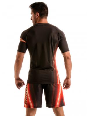 Geronimo T shirts, Item number: 1911t5 Black Flash T-shirt for Men, Color: Black, photo 5
