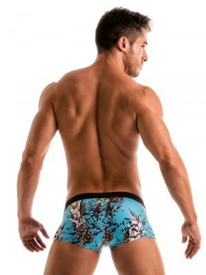 Geronimo Square Shorts, Item number: 1908b2 Blue Pineapple Hipster, Color: Blue, photo 6