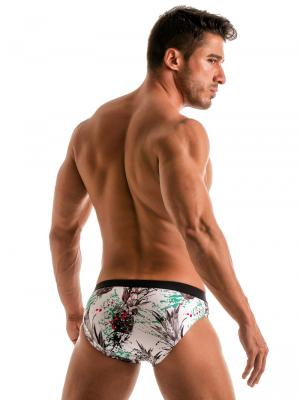 Geronimo Briefs, Item number: 1908s2 White Pineapple Brief, Color: White, photo 6
