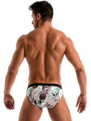 Geronimo Briefs, Item number: 1908s2 White Pineapple Brief, Color: White, photo 8