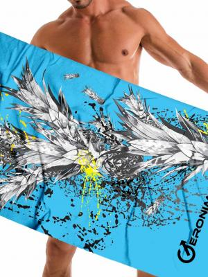 Geronimo Beach Towels, Item number: 1908x1 Blue Pineapple Towel, Color: Blue, photo 1