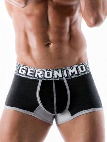 Boxers, Geronimo, Item number: 1953b1 Black Boxer Brief