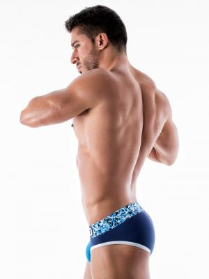 Geronimo Briefs, Item number: 1953s2 Blue Brief for Men, Color: Blue, photo 4