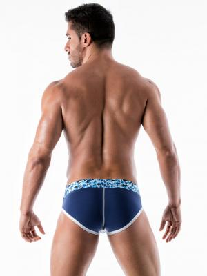 Geronimo Briefs, Item number: 1953s2 Blue Brief for Men, Color: Blue, photo 6