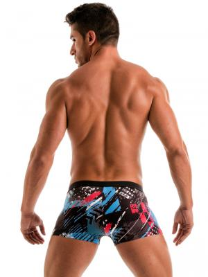 Geronimo Boxers, Item number: 1910b1 Blue Swim Trunk, Color: Blue, photo 6
