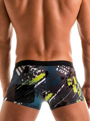 Geronimo Boxers, Item number: 1910b1 Green Swim Trunk, Color: Green, photo 5