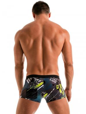 Geronimo Boxers, Item number: 1910b1 Green Swim Trunk, Color: Green, photo 6
