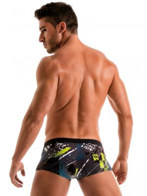 Geronimo Square Shorts, Item number: 1910b2 Green Square Cut Trunk, Color: Green, photo 7