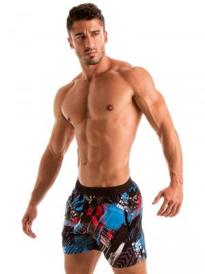 Geronimo Swim Shorts, Item number: 1910p1 Blue Swim Short for men, Color: Blue, photo 4