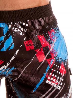 Geronimo Board Shorts, Item number: 1910p4 Blue Mens Boardshorts, Color: Blue, photo 3