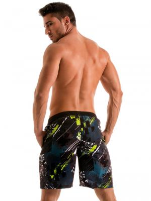 Geronimo Board Shorts, Item number: 1910p4 Green Boardshorts, Color: Green, photo 6