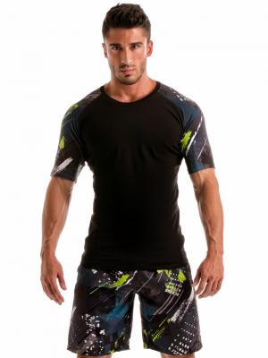 Geronimo T shirts, Item number: 1910t55 Green T-shirt for Men, Color: Green, photo 2