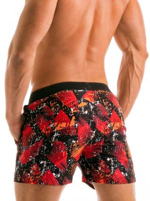 Geronimo Swim Shorts, Item number: 1914p1 Red Swim Short for men, Color: Red, photo 5