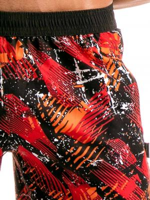 Geronimo Board Shorts, Item number: 1914p4 Red Boardshorts for men, Color: Red, photo 3