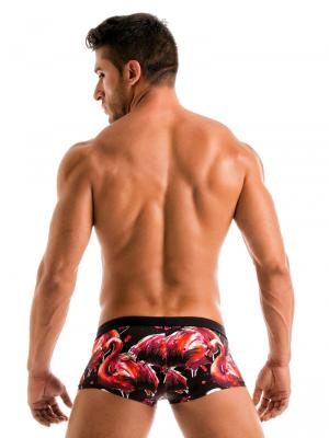 Geronimo Square Shorts, Item number: 1914b2 Flamingo Square trunk, Color: Multi, photo 6