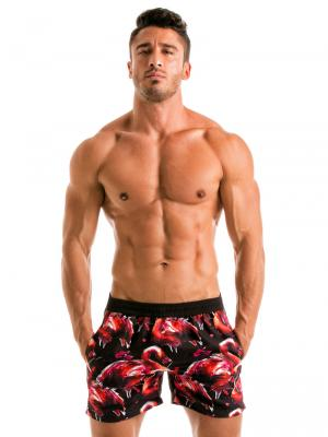Geronimo Swim Shorts, Item number: 1914p1 Flamingo Swim Short, Color: Multi, photo 2