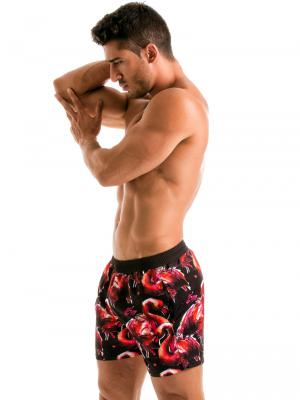 Geronimo Swim Shorts, Item number: 1914p1 Flamingo Swim Short, Color: Multi, photo 4