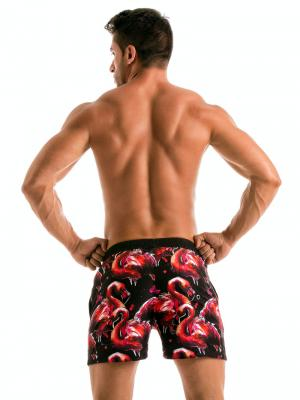Geronimo Swim Shorts, Item number: 1914p1 Flamingo Swim Short, Color: Multi, photo 6