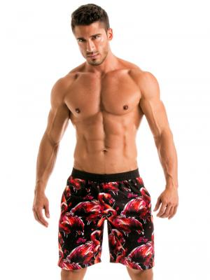 Geronimo Board Shorts, Item number: 1914p4 Flamingo Boardshorts, Color: Multi, photo 2