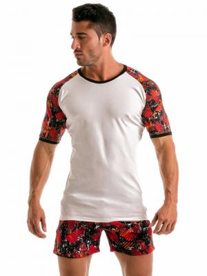 Geronimo T shirts, Item number: 1914t55 White T-shirt for Men, Color: White, photo 2