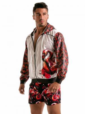 Geronimo Jackets, Item number: 1914v3 Flamingo Jacket, Color: White, photo 5