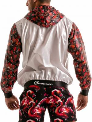 Geronimo Jackets, Item number: 1914v3 Flamingo Jacket, Color: White, photo 6