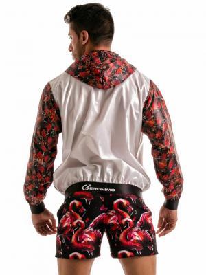 Geronimo Jackets, Item number: 1914v3 Flamingo Jacket, Color: White, photo 7