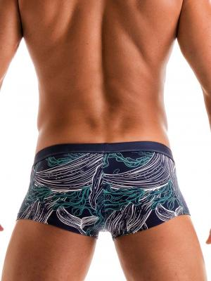 Geronimo Square Shorts, Item number: 1902b2 Blue Whale Hipster, Color: Blue, photo 5