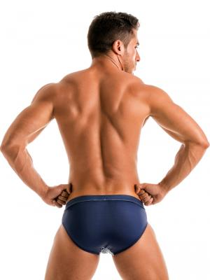 Geronimo Briefs, Item number: 1902s2 White Whale Swim Brief, Color: White, photo 6