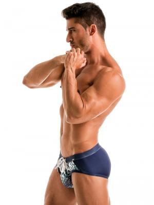 Geronimo Briefs, Item number: 1902s4 White Whale Swim Brief, Color: White, photo 4
