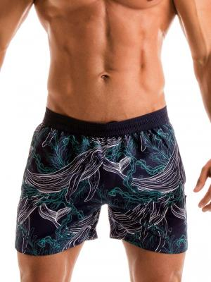 Geronimo Swim Shorts, Item number: 1902p1 Blue Whale Swim Short, Color: Blue, photo 1