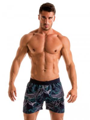 Geronimo Swim Shorts, Item number: 1902p1 Blue Whale Swim Short, Color: Blue, photo 2