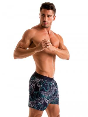 Geronimo Swim Shorts, Item number: 1902p1 Blue Whale Swim Short, Color: Blue, photo 4