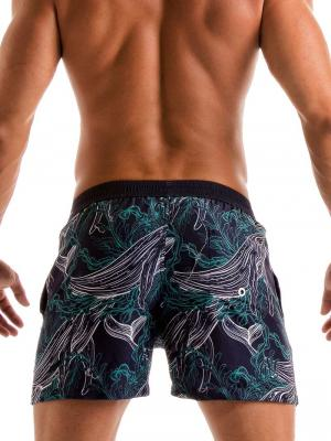 Geronimo Swim Shorts, Item number: 1902p1 Blue Whale Swim Short, Color: Blue, photo 5