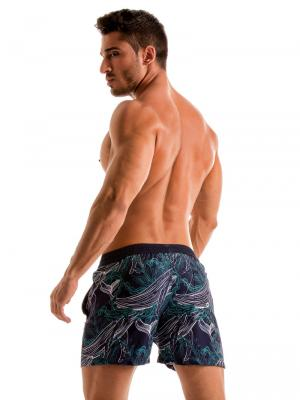Geronimo Swim Shorts, Item number: 1902p1 Blue Whale Swim Short, Color: Blue, photo 6