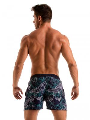 Geronimo Swim Shorts, Item number: 1902p1 Blue Whale Swim Short, Color: Blue, photo 7