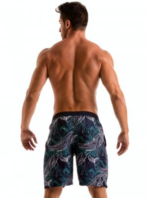 Geronimo Board Shorts, Item number: 1902p4 Blue Whale Surf Short, Color: Blue, photo 6