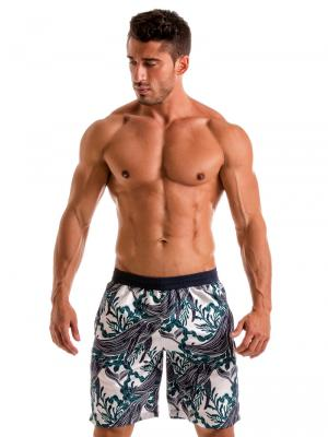 Geronimo Board Shorts, Item number: 1902p4 White Whale Surf Short, Color: White, photo 2
